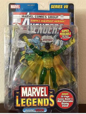 Vision phasing series VI Marvel Legends Collectible toy for Sale in Thonotosassa, FL
