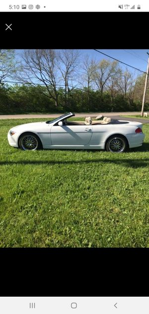 Bmw 650i convertible 07 for Sale in Columbus, OH