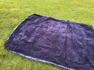 Queen size air mattress don't have the knob to keep air in lost it other than that great condition and clean like new can be used with other knob or for Sale in Riverbank, CA