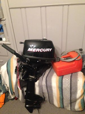 Mercury outboard 4hp for Sale in Oakland, CA