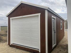 12x24 Elite Portable Garage-Storage Shed for Sale in Cedar Hill, TX