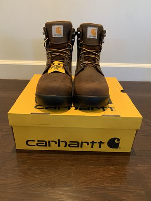 Carhartt 6 inch boots, size 9.5 Wide for Sale in Alhambra, CA
