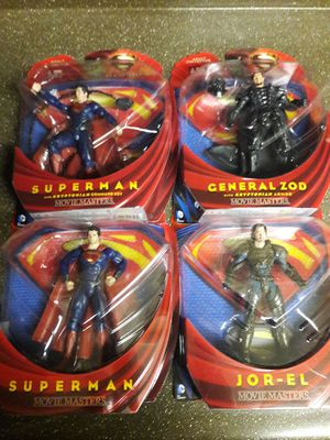 Man of Steel ( Movie Masters ) figures for Sale in Chandler, AZ