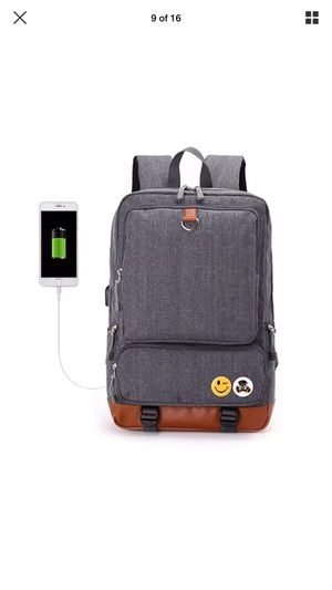 Backpack 🎒 with phone charger $40 for Sale in Columbus, OH