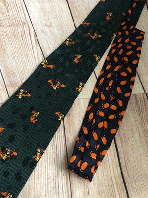 The Disney Store Tigger Blue Green Tie 100% Silk Necktie New With Tags for Sale in San Bernardino, CA