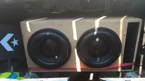 Car audio competition sound system for Sale in Santa Fe Springs, CA