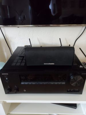 Onkyo AV Receiver and 5.1 Speakers for Sale in Waltham, MA