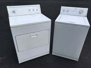 Electric drier and washer for Sale in Dracut, MA
