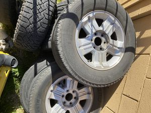 Chevy Rims 6 lugs for Sale in North Las Vegas, NV