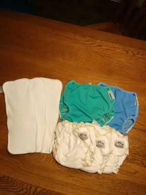 Cloth diapers Mother's Ease Sandy's Bamboo trim fit $50.00 for Sale in Montesano, WA