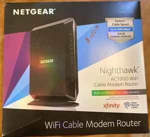 Wireless Cable Modem Router for Sale in Boca Raton, FL
