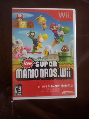 Mario Bros Wii for Sale in Fresno, CA