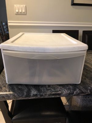 Plastic drawer container for Sale in Old Westbury, NY