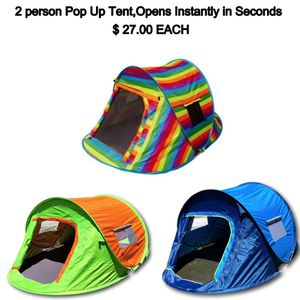 Orange Easy Pop up tent park beack camping for Sale in Los Angeles, CA