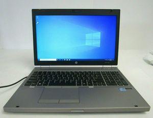 hp elitebook 8560p editing Laptop 16inch intel i7-2,6gz 8gb ram, 500gb hd, win-10 amd radeon graphic card for Sale in Los Angeles, CA