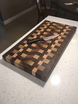 End grain cutting board for Sale in Yorba Linda, CA
