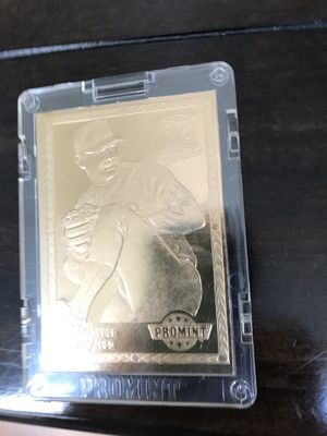Nolan Ryan 1993 mint 22 kt gold card for Sale in Brick, NJ