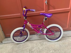 Girls Barbie 16' bike for Sale in Frederick, MD