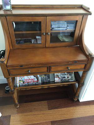 Antique oak desk for Sale in Miami Beach, FL