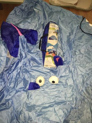 Kids hippo tent backyard discovery. Eyes and nose detach to become toys. Like new for Sale in Fresno, CA
