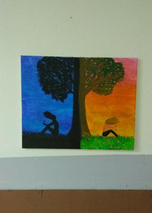 Beautiful painting by an up and coming Artist for Sale in Kingsport, TN