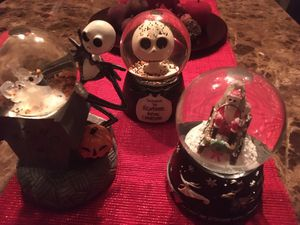Nightmare before Christmas globes for Sale in San Antonio, TX