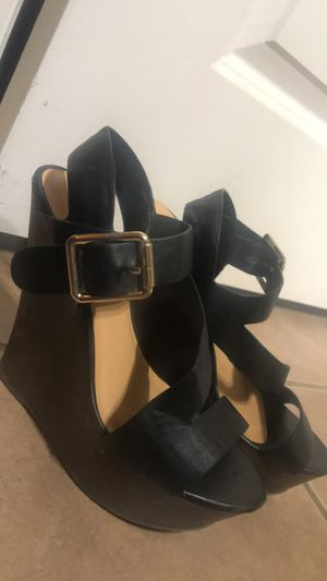 Black and brown wedges for Sale in Midlothian, TX