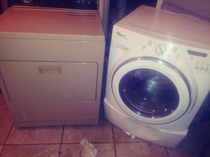 Whirlpool duet washer and kenmore dryer for Sale in Oklahoma City, OK