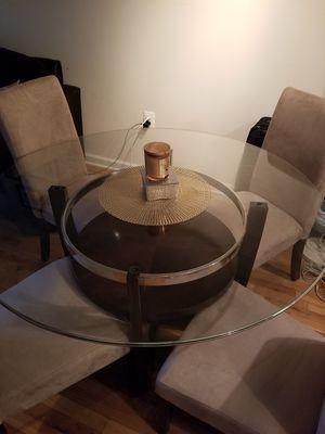 Glass dining table for Sale in Arlington, VA