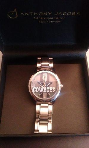 Silver Dallas Cowboys Watch for Sale in Norcross, GA
