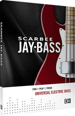 Native Instruments – Scarbee Jay-Bass KONTAKT for Sale in Houston, TX