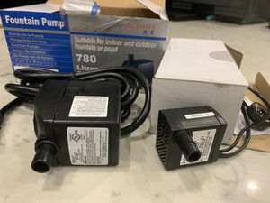 Jebao AP-388 and AP-333 fountain pumps for Sale in Lakewood, CA