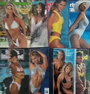 Eight Vintage Sports Illustrated Swimsuit Issues 1980-1995 for Sale in Hughson, CA