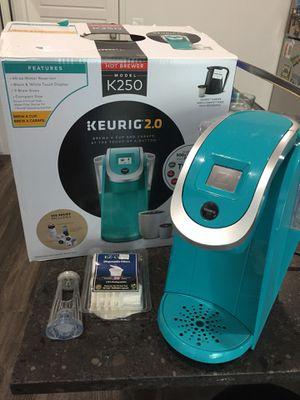 Keurig 2.0 K250 Plus series coffee maker for Sale in Salt Lake City, UT