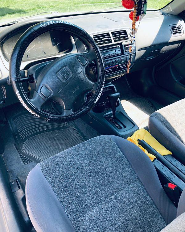 1998 Honda Civic CX (Hatchback)