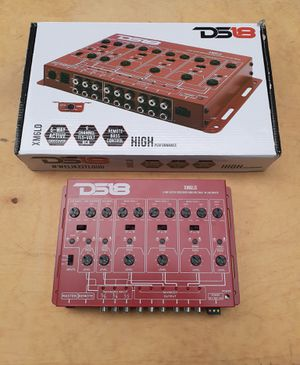 NEW! DS18 6-Way electronic crossover for Sale in York, PA