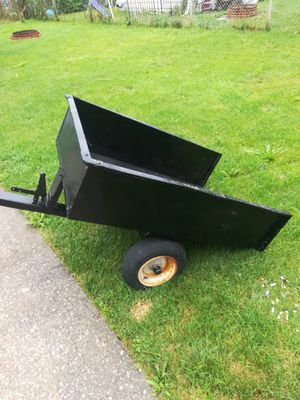 Small trailer dump for an ATV or riding lawn mower for Sale in Lincoln Park, MI