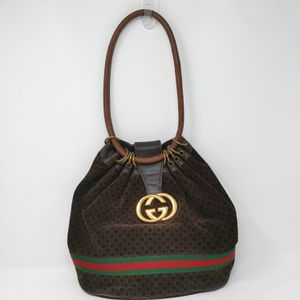 Rare Vintage Gucci Brown G Suede Bag for Sale in Rockvale, TN