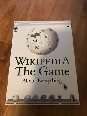 Wikipedia Board Game for Sale in San Diego, CA