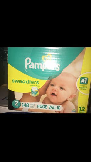 Pampers size 2 for Sale in DeBary, FL