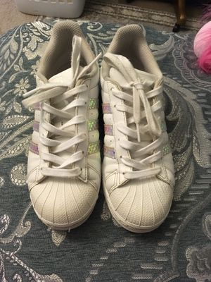Nice shoes adidas unixes . for Sale in Rockville, MD
