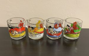 Garfield Collectible Glasses (McDonalds 1978) for Sale in Miami, FL