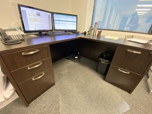 Large Brown Desk for Sale in Federal Dam, MN