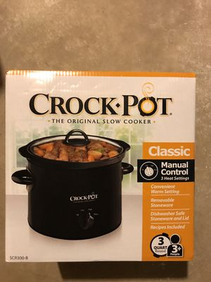 Crock pot 3qt for Sale in Columbus, OH