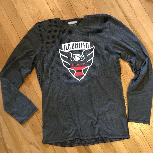L* Adidas DC United aeroknit long sleeve