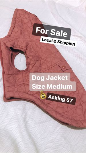 Pink Dog Jacket 🐶 🧥 MEDIUM for Sale in Easton, PA