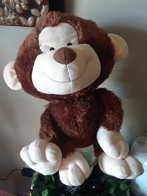 Limited edition stuffed monkey for Sale in Smyrna, TN