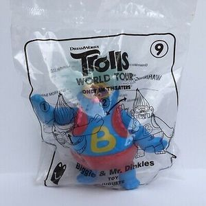 2-2020 McDonald's Happy Meal Toy Trolls World Tour #9 Biggie and Mr. Dinkles for Sale in Grandville, MI