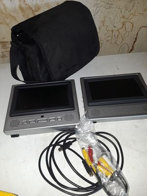Vehicle Dual screen DVD Player for Sale in Hesperia, CA