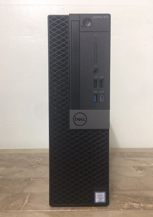 Excellent Business DELL Optiplex XE3 Core i5 8th Gen. 16GB RAM 256GB NVMe SSD Windows 10 dual display desktop computer for Sale in Pembroke Pines, FL